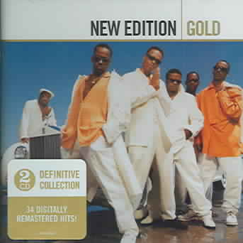 GOLD BY NEW EDITION (CD)